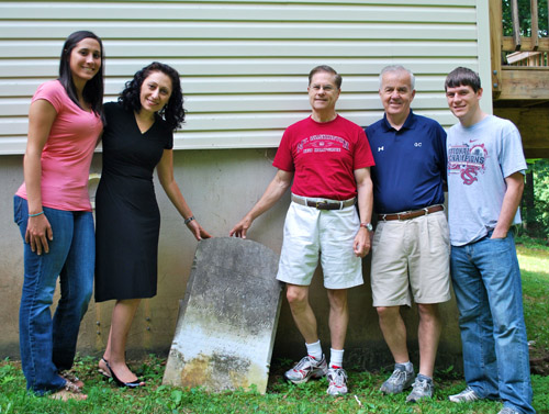 Real estate agent in Carroll County found Mary's stone